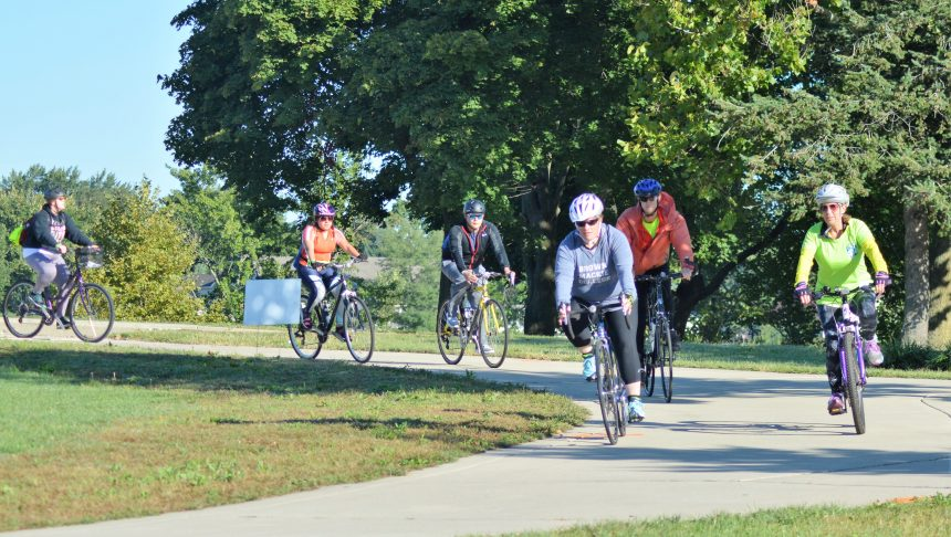 A Gorgeous Day for Bike Michiana and Walk for Hospice!