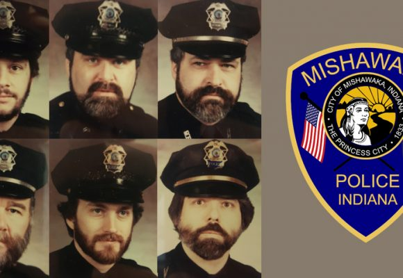 "Mishawaka Police Department's ""No Shave November"" Raises Money for Center for Hospice Care"